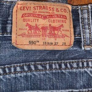 Levi's Jeans - Levi's 550 jeans